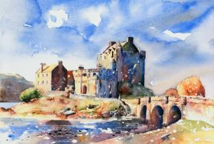 Autumn Morning, Eilean Donan Castle