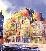 Edinburgh Castle & The Grassmarket